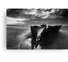 Wreck of the SS Nornen Canvas Print