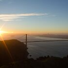 Sunrise over San Francisco Bay by Philip Kearney