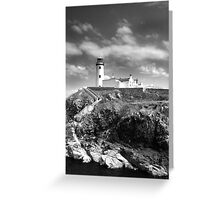 Fanad Head Lighthouse In Donegal, Ireland Greeting Card