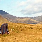 The A 93 Towards Glen Shee by GreenPeak