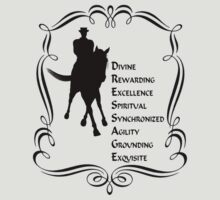 Dressage Is Horse Silhouette Shirt by SmilinEyes