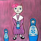 3 Russian dolls into 1 by Lorraine Stylianou