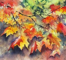 Golden Autumn by Ann Mortimer