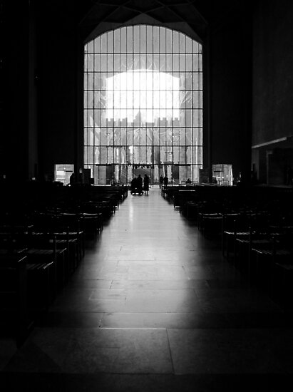 The West Screen - Coventry Cathedral by John Dalkin