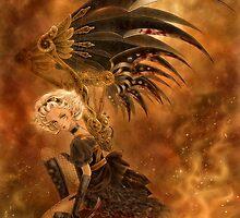 Steampunk Dark Angel by Mitzi Sato-Wiuff