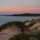 Monkey Mia Western Australia, Sunrise over the Dunes by Virginia  McGowan