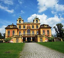 Schloss Favorit - Hunting Mansion of  Duke Carl Eugen and Elisabeth Friederike von Brandenburg-Bayreuth by Bine