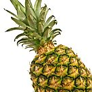 Isolated pineapple. by FER737NG