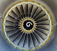 Jet engine detail. by FER737NG