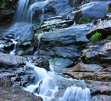 Bridal Veil Falls, Blue Mountains, NSW by Martyn Baker | Martyn Baker Photography