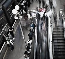 Escalator  by Jonathan Fox