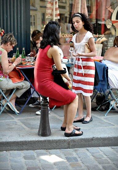 Do you want a table Madame? by Karen E Camilleri