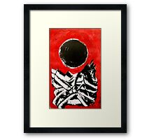 After Gottlieb - Monotype Framed Print