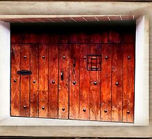 Wood Garage Door - Guatemala by ecannon11