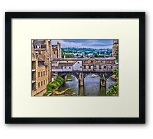 Bath, Pulteney Bridge Framed Print