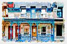Facade III - watercolour by PhotosByHealy