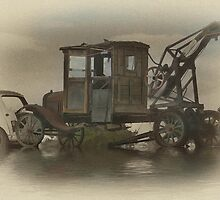Old School Towing Co. by Michael  Gunterman