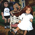 Partners In Crime, My American Girl Dolls by Deborah Lazarus