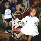 Partners In Crime, My American Girl Dolls by Deborah Lazarus