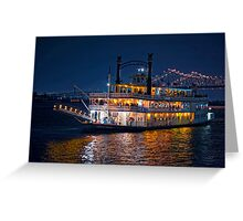 Night in New Orleans Greeting Card