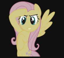Fluttershy at attnetion by LcPsycho