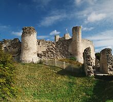 Conisborough Castle by WatscapePhoto