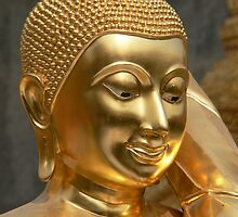 Gold Buddha by jmccabephoto