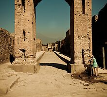 Gateway to Mount Vesuvius by BarenPoets