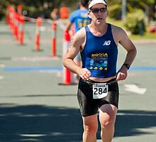 Kingscliff Triathlon 2011 finish line B6509 by Gavin Lardner