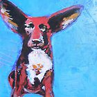 """All Ears"" Red Kelpie by deanna maich"