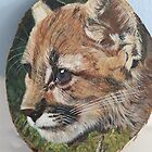 Bobcat Painting by mhm710