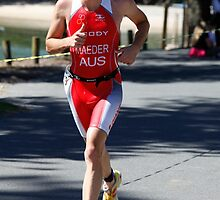 Kingscliff Triathlon 2011 Run leg C0583 by Gavin Lardner