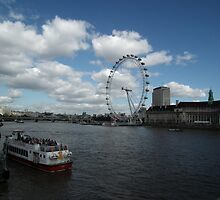 london eye by gwebb