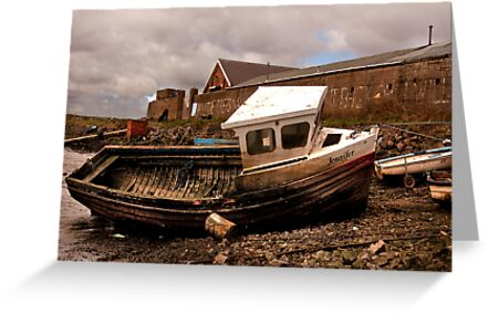 The Boat Jennifer - Paddy's Hole by Trevor Kersley