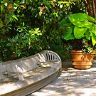 Curved Bench by Martha Andreatos
