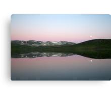 Storhaugvatnet - mountain lake reflections Canvas Print