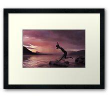 Silver Lining  Framed Print