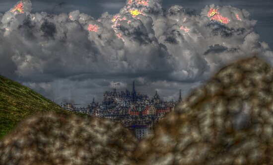 Edinburgh HDR by blueandwhite80