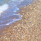 shore pebbles by Daneal O'Leary