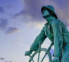 Gloucester Fisherman's Memorial by Jarrod Valliere
