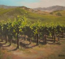 Vineyard Summer by Karen Ilari