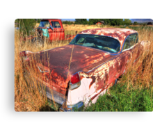 Old car - Cadillac Canvas Print