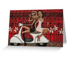 Scooting the Breeze Greeting Card