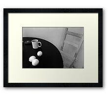 Lemon's geometry Framed Print