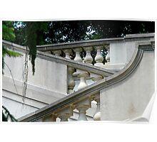 Steps at Winterthur Poster