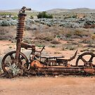 Desert Scooter - Silverton NSW Australia by Bev Woodman