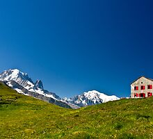 Tour de Mont Blanc by David  Curtis