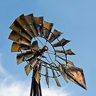 Dark Midwestern Windmill by Kenneth Keifer