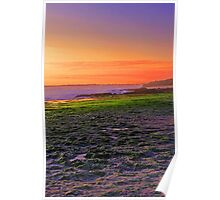 North Beach At Sunset  Poster