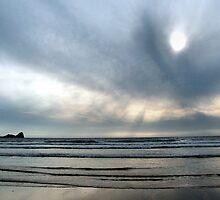 Rhossili Bay by magickgardener